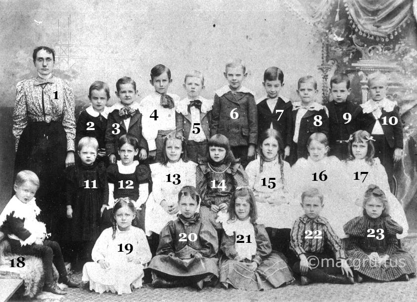 Louisville Class Picture 1898